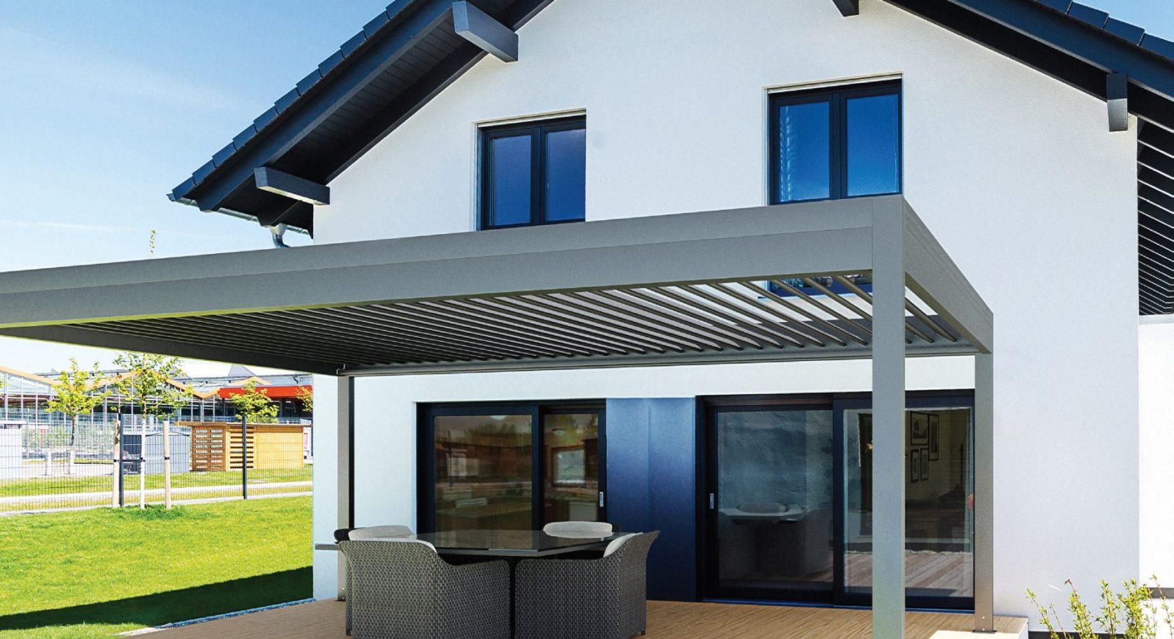 LÖWE Lamellendach.de – Moderne Terrassen mit Lamellendach